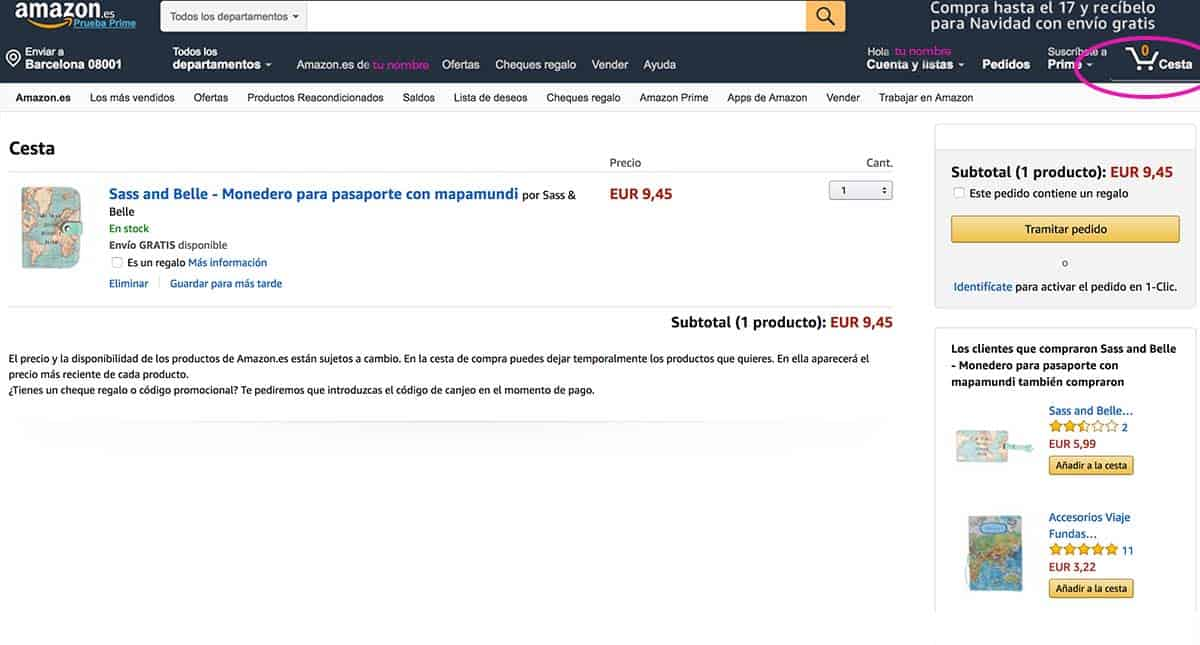 Compra a olazo amazon