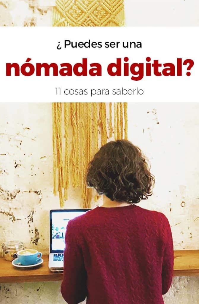 ¿Puedes ser una nómada digital?