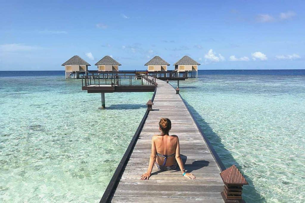 Viajar a Maldivas: visita un resort