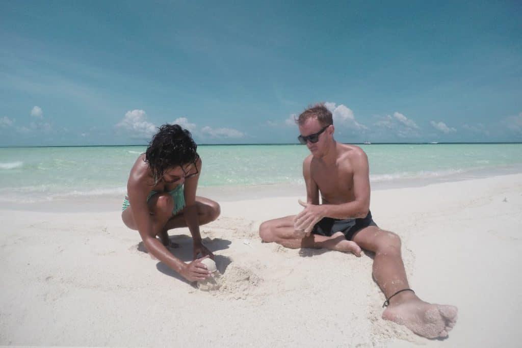 Sandbank: castillo de arena