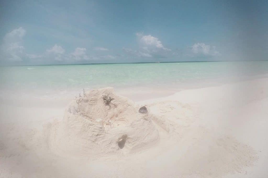 Castillos de Arena en Maldivas