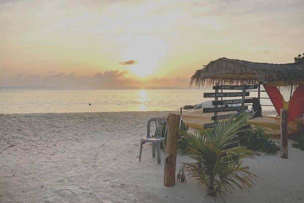 Viajar a Maldivas: isla de Gulhi