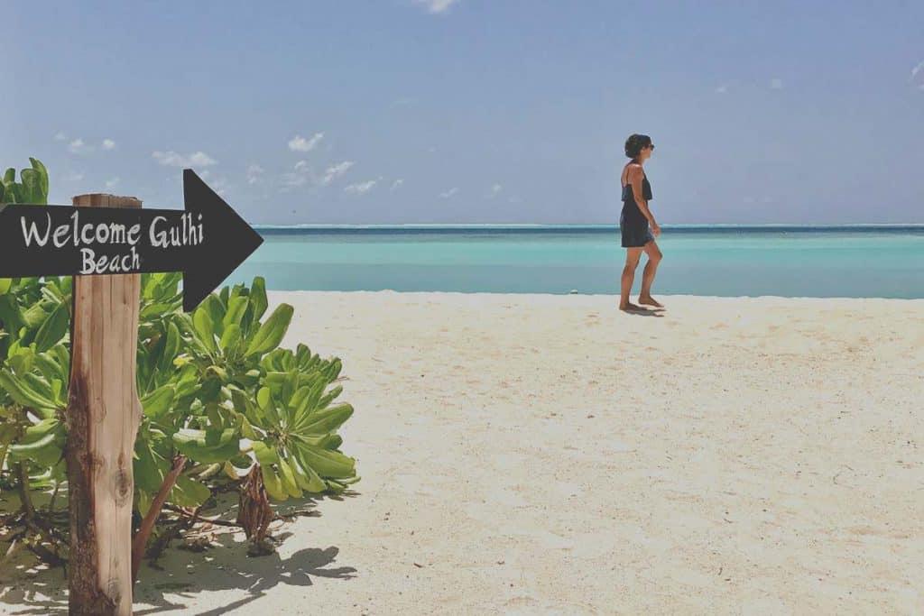 Playas bonitas de Maldivas