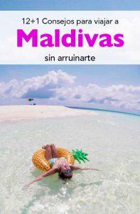 Viajar a Maldivas sin arruinarte