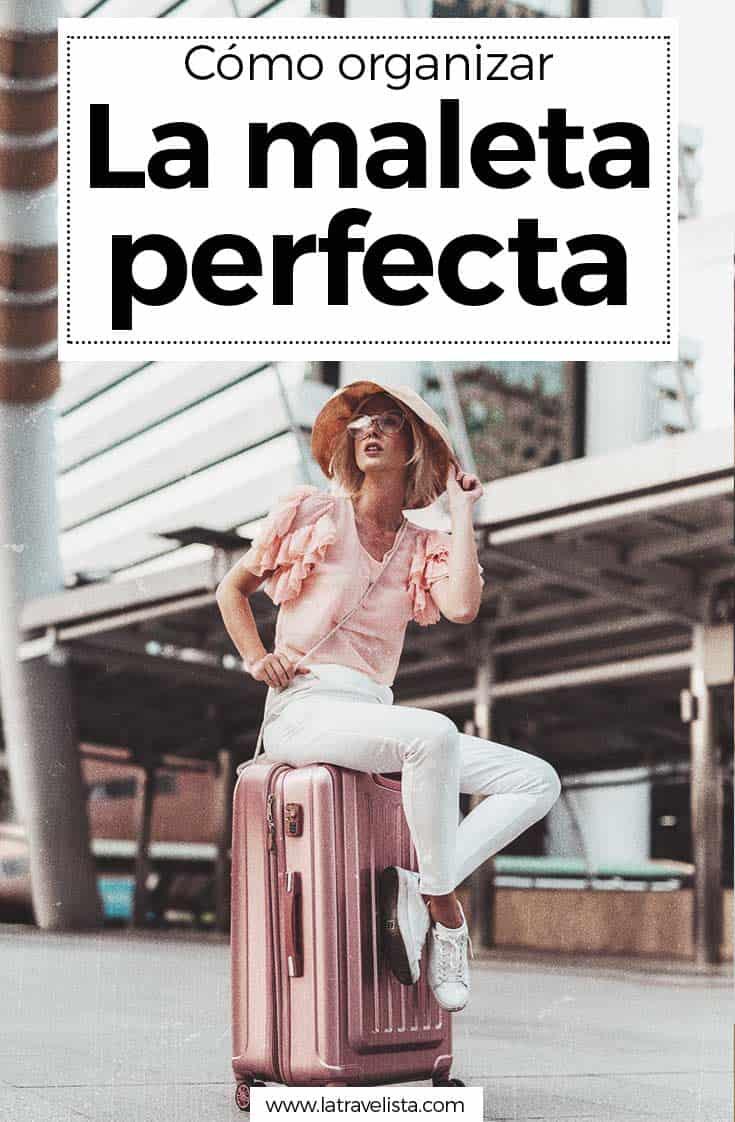Organizar PerfectaAhorra Espacio Tiempo Y Maleta La Cómo rdBoEWQxeC