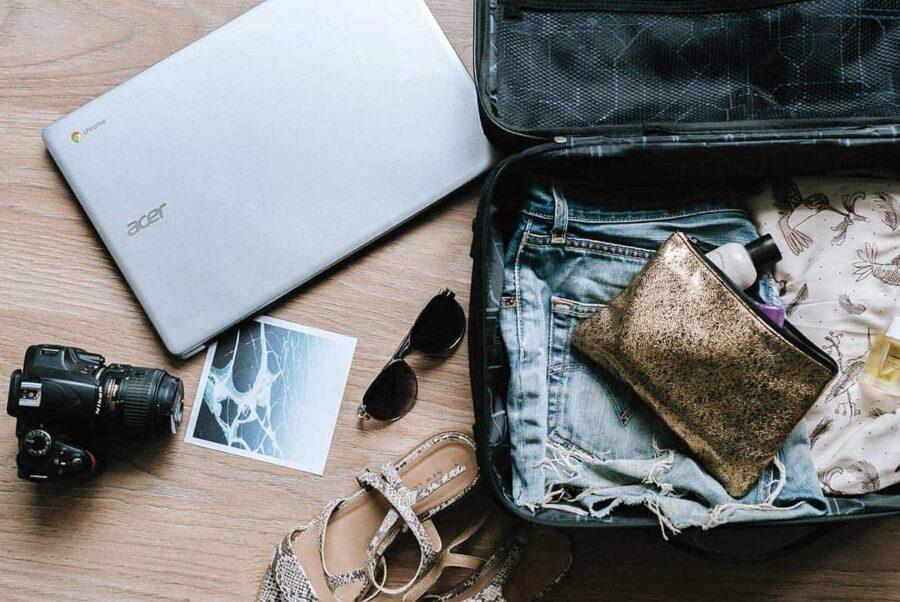 Cómo organizar la maleta perfecta (ahorrando espacio)