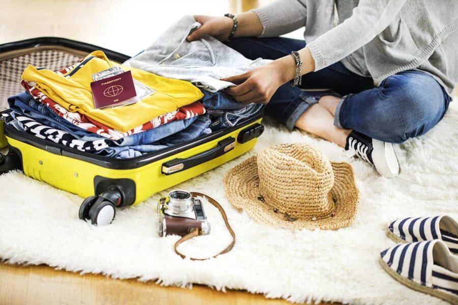 Cómo organizar la maleta para tus viajes