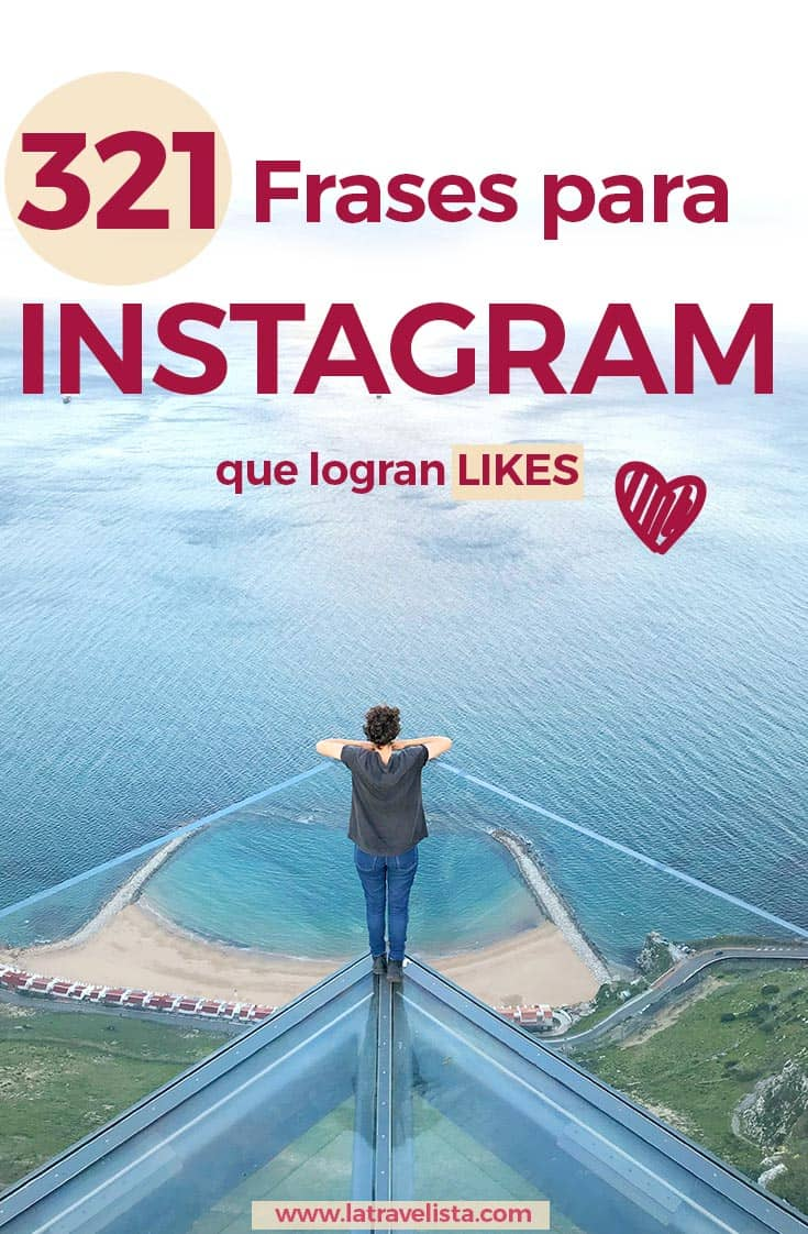 Frases para INSTAGRAM que logran likes