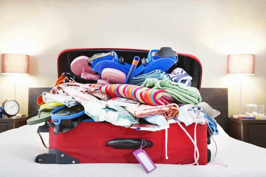 Cómo organizar la maleta de manera práctica