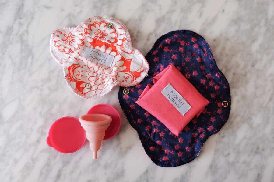 Kit para la menstruación