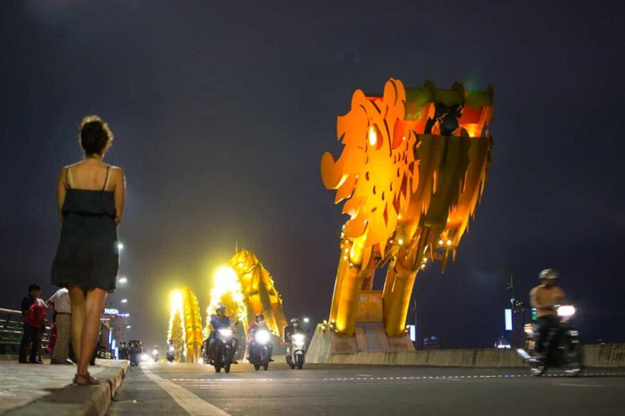 Da Nang y su dragon bridge