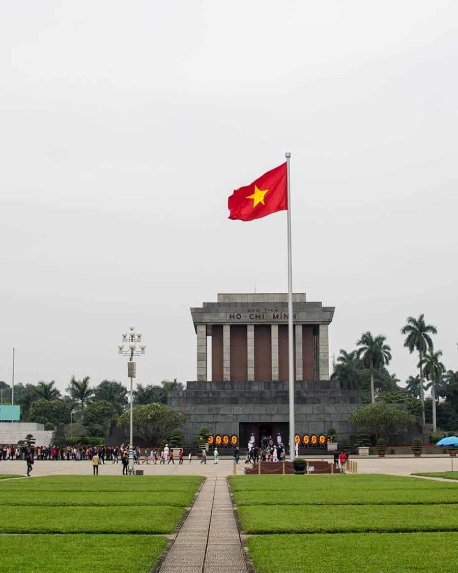 Mausoleo Ho Chi Minh, sitios que ver en Hanoi