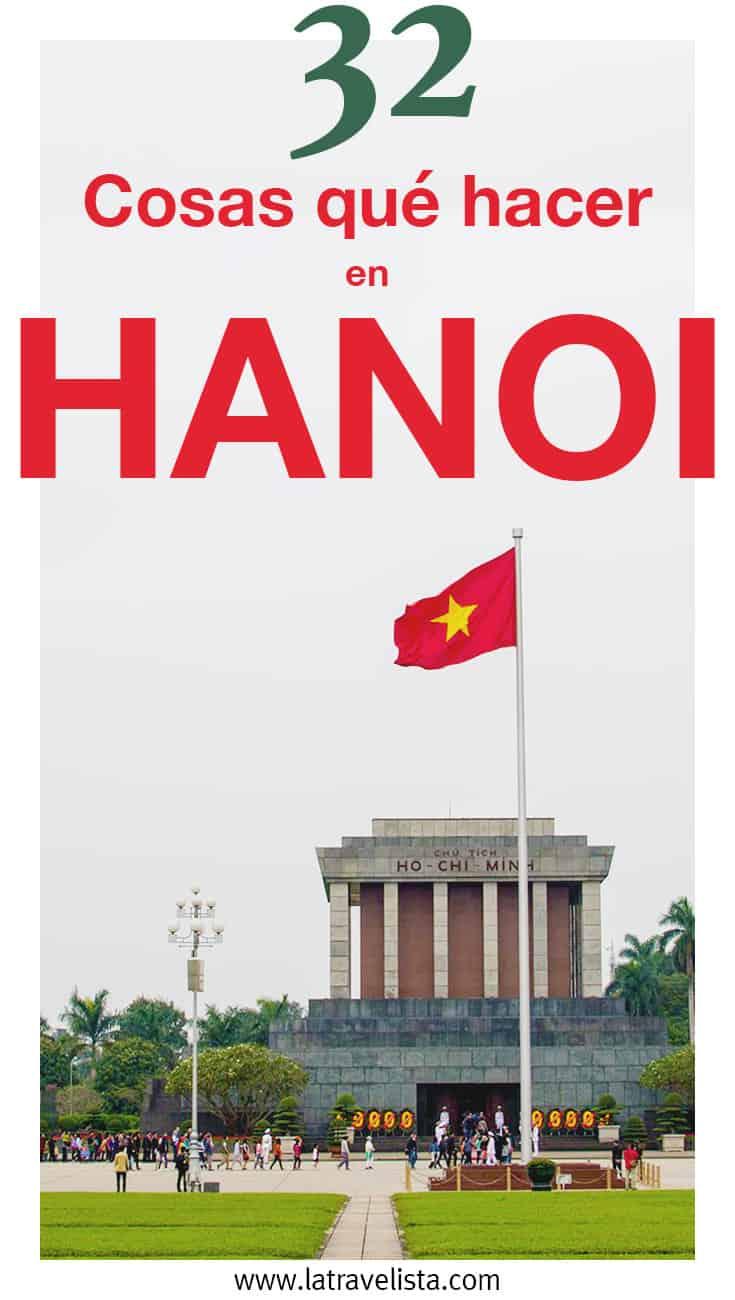 32 cosas qué hacer en Hanoi