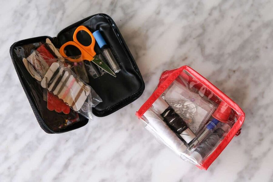 Kit de costura de viaje