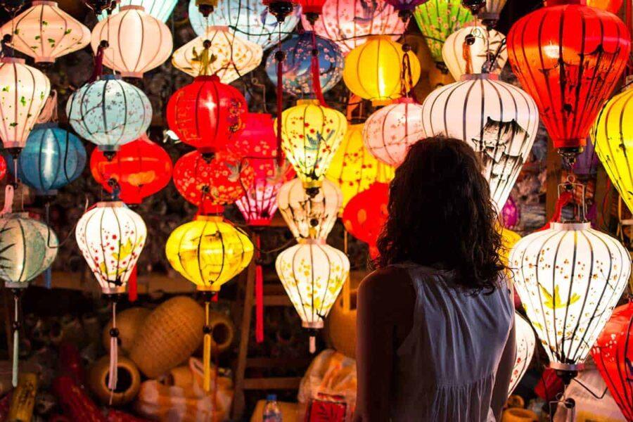 ¿Qué comprar en Vietnam? Lamparas de papel