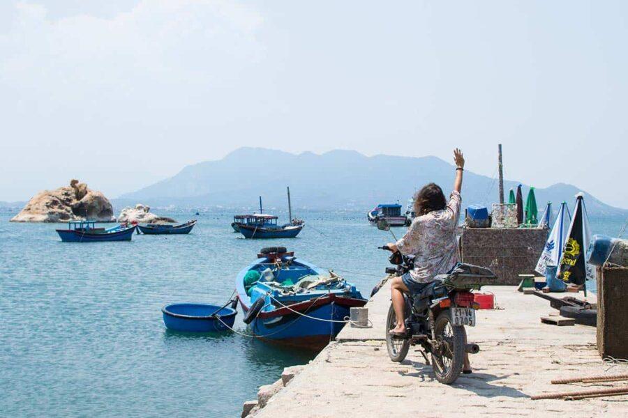 Viajar en moto en Vietnam