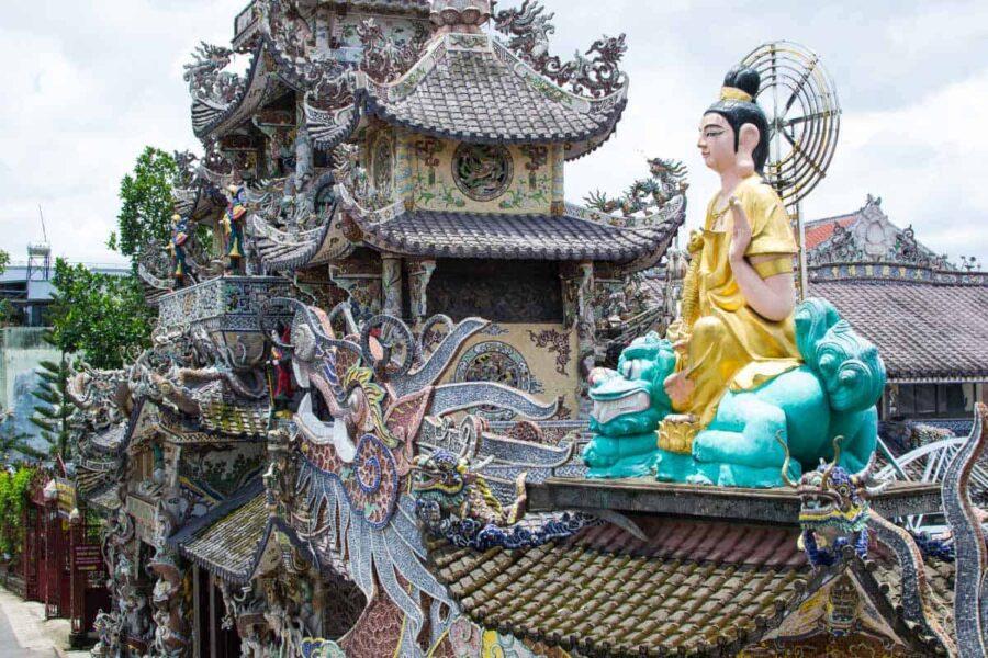 ¿Qué visitar en Vietnam? La pagoda de Da Lat