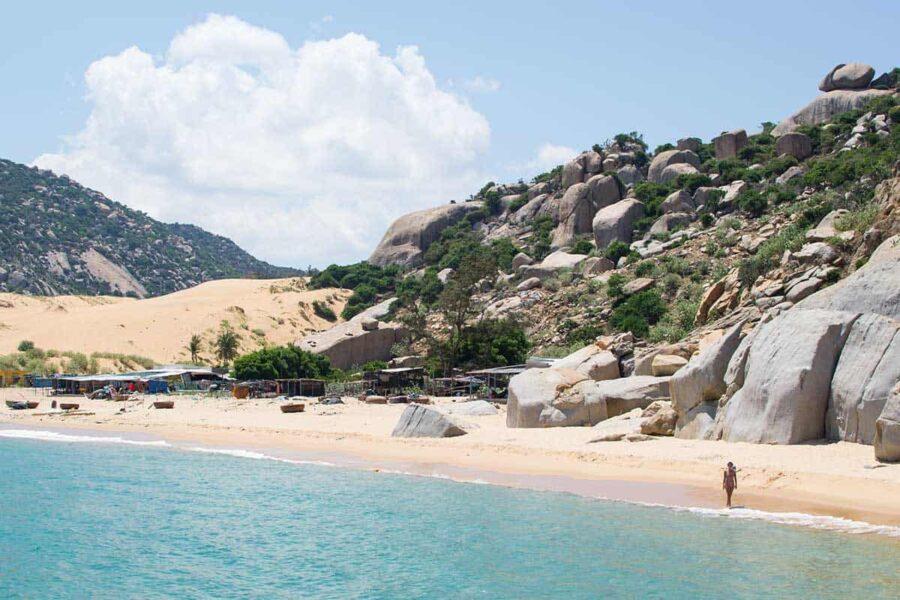 playa desertica en Vietnam