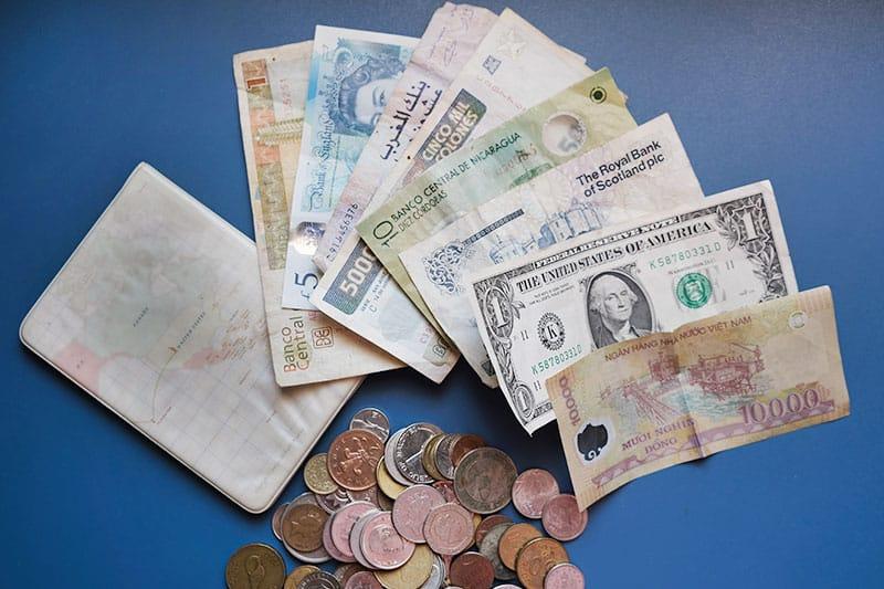 Dinero para viajar