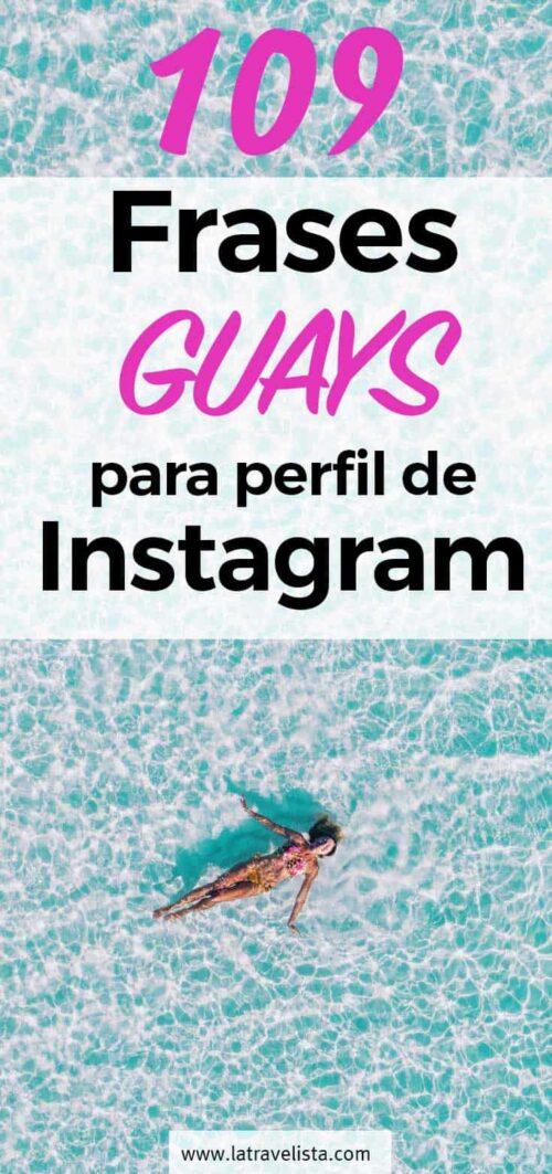 Frases guays para el perfil de Instagram