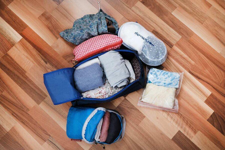 Tipos de packing cube. Lo mejor para organizar tu maleta