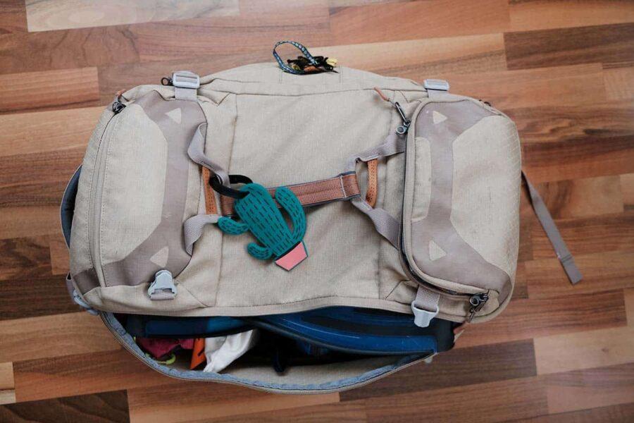 Todo en la mochila