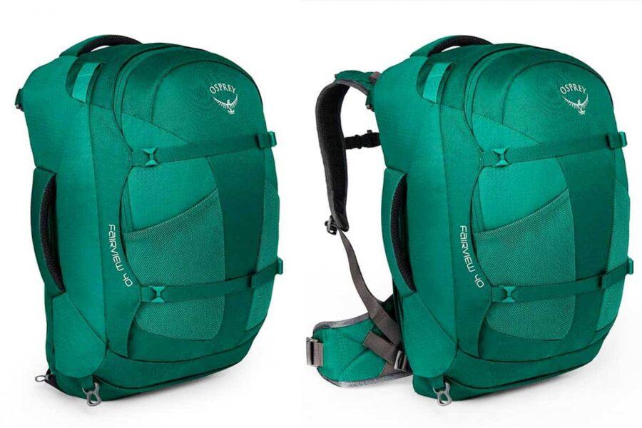 Osprey Fairview 40 mochila para chicas viajeras
