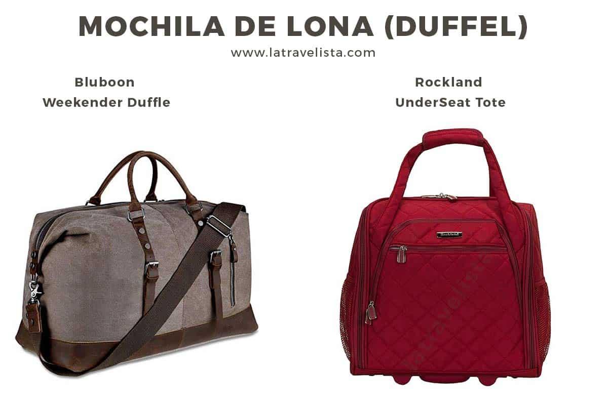 La mejor mochila de lona para tus viajes