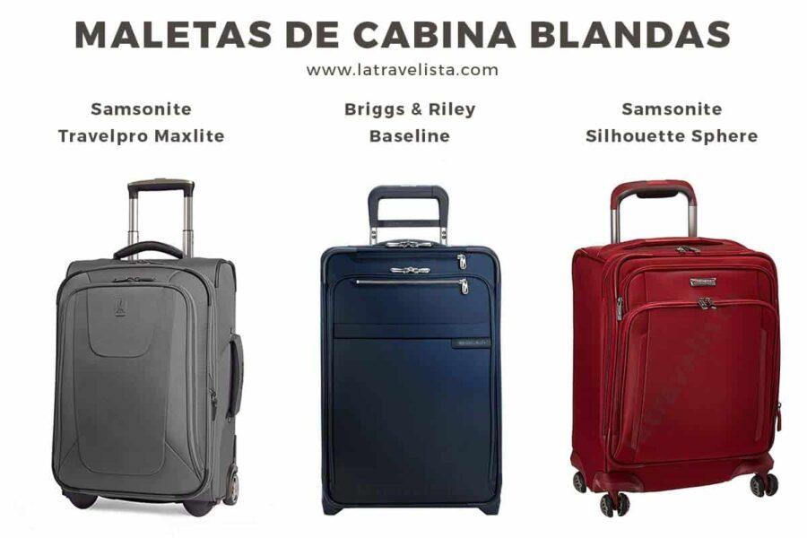 La mejor maleta de mano blanda para tus viajes