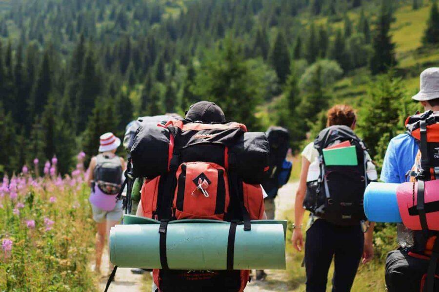 mochila de viaje trekking