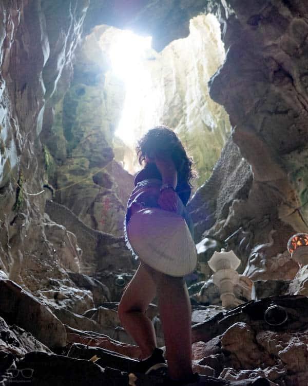 sube las escaleras de Marble Mountain