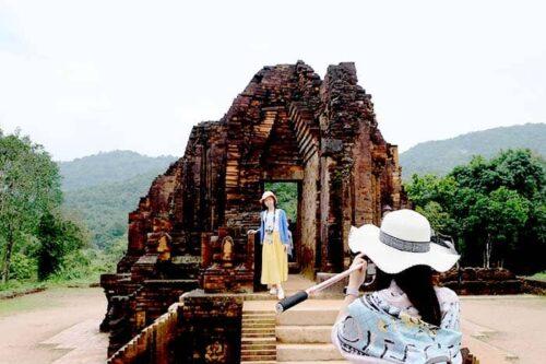 Ruinas de My Son en Vietnam