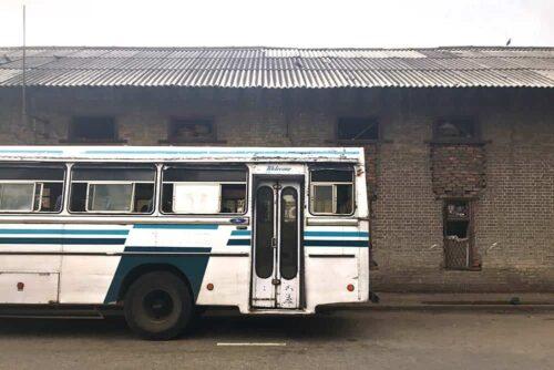 Autobús público en Sri Lanka