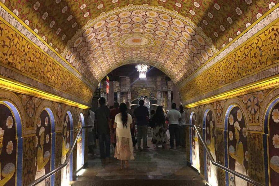 Templo del Buda en Kandy