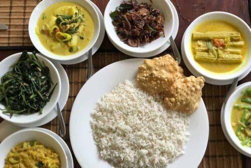 Comida en Sri Lanka