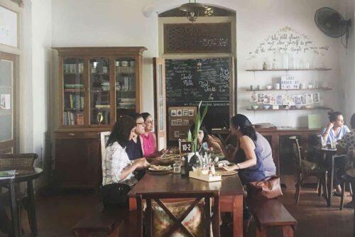 Kombuk Café en Colombo