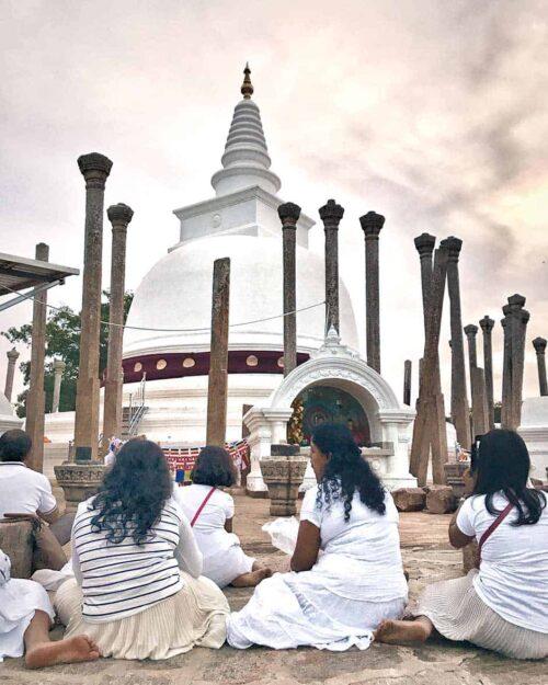 Minithale en Anuradhapura