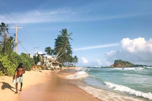Playas y surf en Sri Lanka
