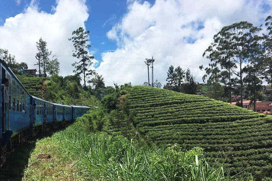 El tren escénico de Sri Lanka