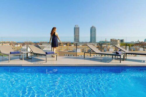 Mejor hotel para familias en Barcelona- H10 Marina