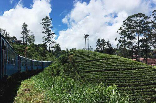Tren escénico de Sri Lanka