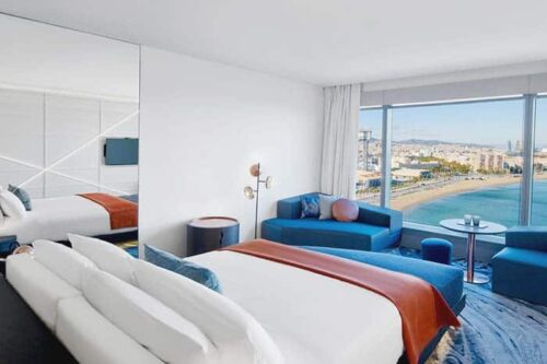 Habitación en W Hotel Barcelona