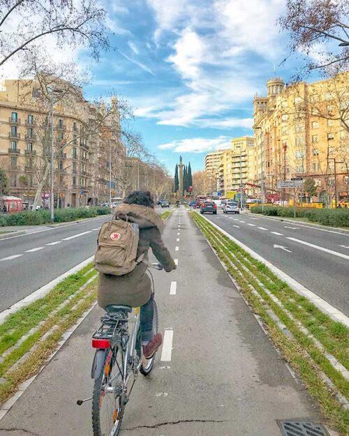 Paseando por el Eixample en Barcelona
