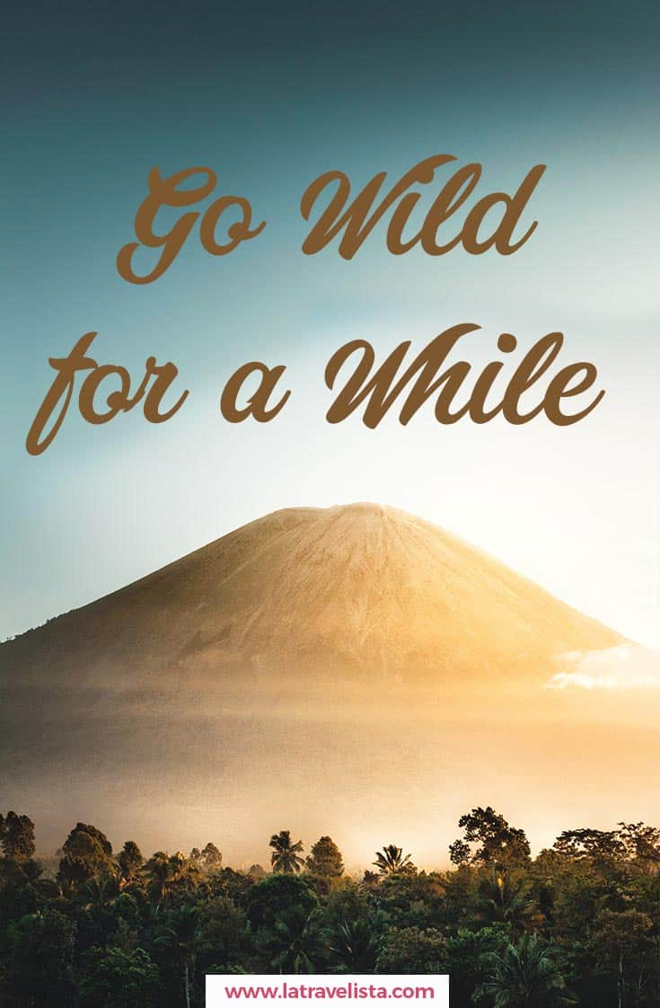 Go wild forfor a while