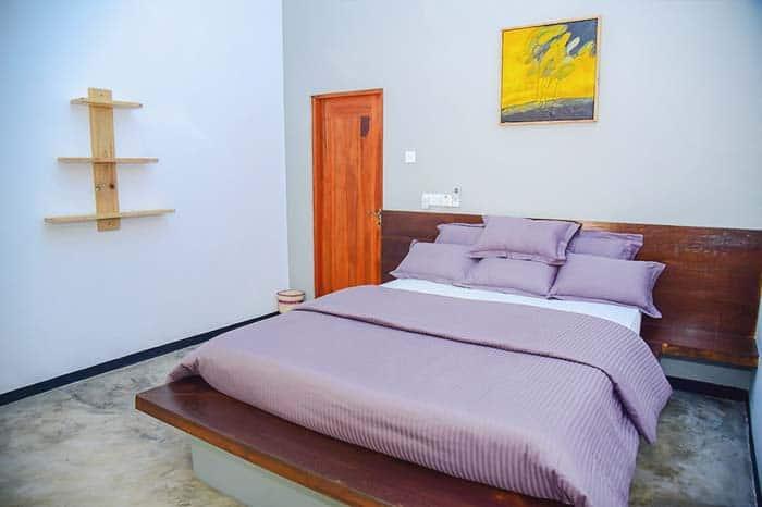 Habitación del Richard Cabanas, hotel bonito en Tissa