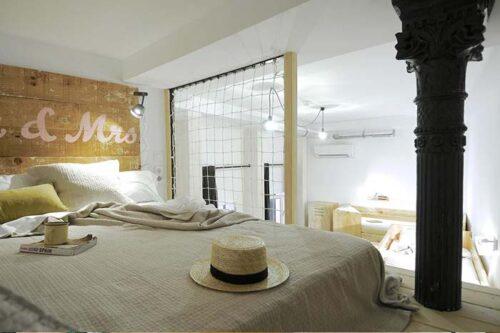 Dormitorios The hat Madrid.