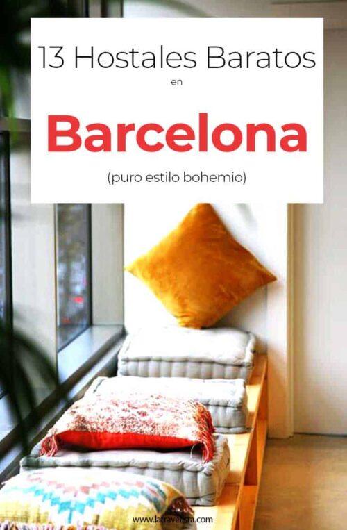 13 hostales bartos en Barcelona