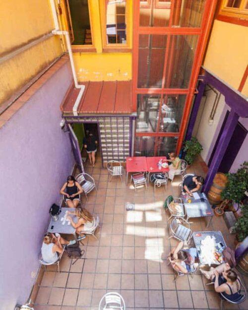 Hostales baratos Madrid, La Posada Huertas.