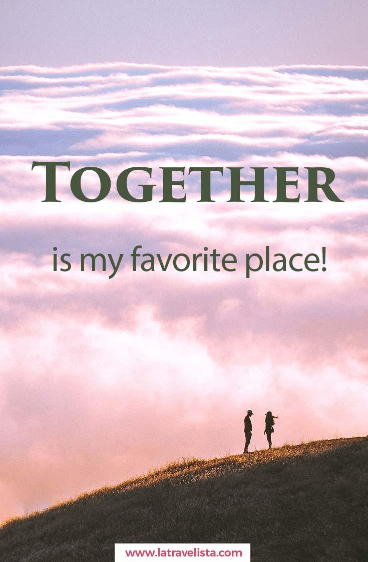 frase amor en inglés together