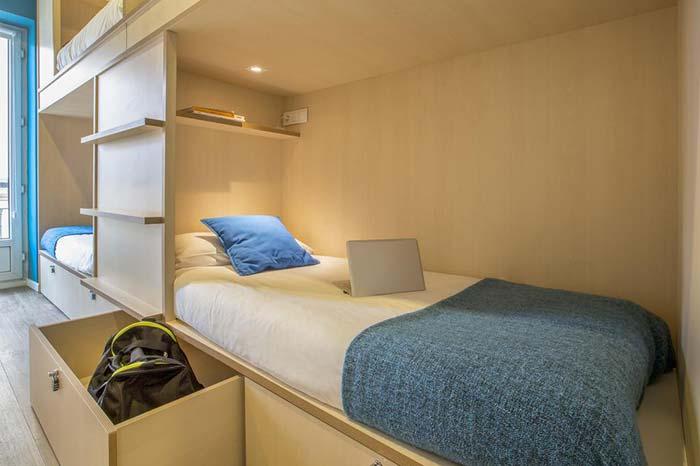 Dormitorios Mola Hostel Madrid.